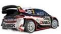 [予約]ixo (イクソ) 1/43 フォード フィエスタ WRC 2017年ラリー・ポルトガル #3 E. Evans / D. Barritt