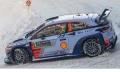 [予約]ixo (イクソ) 1/43 ヒュンダイ i20 WRC 2017年ラリー・モンテカルロ #5 T.Neuville / N.Gilsoul