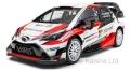 [予約]ixo (イクソ) 1/43 トヨタ ヤリス WRC 2017年ラリー・モンテカルロ #10 J-M. Latvala - M. Anttila
