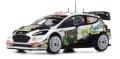 [予約]ixo (イクソ) 1/43 フォード フィエスタ WRC 2018年Rallye Monte-Carlo #3 B.Bouffier/X.Panseri