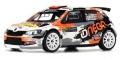 [予約]ixo (イクソ) 1/43 シュコダ ファビア R5 2018年Rallye Monte-Carlo #72 O.Burri/A.Levratti