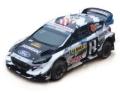 [予約]ixo (イクソ) 1/43 フォード フィエスタ WRC 2018年ラリーRACCカタルーニャ #43 K.Block / A.Gelsomino