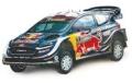 [予約]ixo (イクソ) 1/43 フォード フィエスタ WRC 2018年ラリーオーストラリア #1 S. Ogier / J.Ingrassia (World Champion)