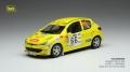 [予約]ixo (イクソ) 1/43 プジョー 206 XS  2006年Rallye Terre de provence #66 S. Ogier/J. Ingrassia