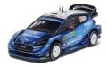 [予約]ixo (イクソ) 1/43 フォード フィエスタ WRC 2019年ラリー・メキシコ #33 E.EVANS -S. MART