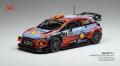 [予約]ixo (イクソ) 1/43 ヒュンダイ i20 クーペ WRC 2019年ツール・ド・コルス 優勝 #11 T.Neuville/N.Gilsoul