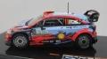 [予約]ixo (イクソ) 1/43 ヒュンダイ i20 クーペ WRC 2019年ラリー・アルゼンチン 優勝 #11 T. Neuville/N. Gilsoul