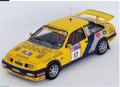 [予約]トロフュー 1/43 フォード シエラ RS コスワース 1988年RAC Rally 17位 #17 Mark Lovell/Terry Harryman