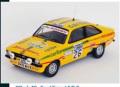 [予約]トロフュー 1/43 フォード エスコート Mk2 1977年RAC Rally 5位 #26 Andy Dawson/Andrew Marriott