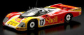 """Spark (スパーク) 1/43 ポルシェ 962C No.17 """"Shell"""" 2nd ル・マン 1988 D. Bell/K. Ludwig/H-J. Stuck ※再生産"""