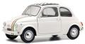SOLIDO(ソリド) 1/18 フィアット 500L 1968 ホワイト/イタリアンストライプ