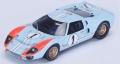 [予約]Spark (スパーク) 1/43 フォード GT40 Mk II No.1 2nd ル・マン 1966 K.Miles/D.Hulme ※再生産