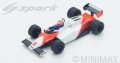 Spark (スパーク) 1/43 マクラーレン MP4/1C No.8 2nd Long Beach GP 1983 Niki Lauda