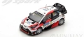 Spark (スパーク) 1/43 トヨタ Yaris WRC No.12 Winner Rally フィンランド 2017 E.Lappi/J.Ferm
