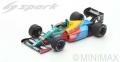 Spark (スパーク) 1/43 Benetton B188 No.19 3rd イギリス GP 1988 Alessandro Nannini