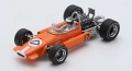 Spark (スパーク) 1/43 Brabham BT24 No.17 モナコo GP 1969 Silvio Moser