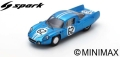 Spark (スパーク) 1/43 Alpine A210 No.62 9th 24H ル・マン 1966 H.Grandsire/L.Cella