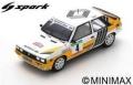 [予約]Spark (スパーク) 1/43 ルノー 11 Turbo No.4 2nd Rally ポルトガル 1987 J.Ragnotti/G.Thimonier
