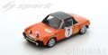 Spark (スパーク) 1/43 ポルシェ 914/6 No.7 3rd Monte Carlo Rally 1971 B.Waldegard/H.Thorszelius