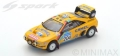 [予約]Spark (スパーク) 1/43 プジョー 405 T16 Grand Raid No.204 2nd Paris Dakar 1990 B. Waldegard - J.-C. Fenouil