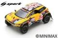 [予約]Spark (スパーク) 1/43 プジョー 3008 DKR Maxi No.312 PH-Sport ダカールラリー 2019 H.Hunt/W.Rosegaar
