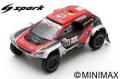 [予約]Spark (スパーク) 1/43 プジョー 3008 DKR Maxi No.333 Easy Rally ダカールラリー 2019 J-P.Besson/J.Brucy