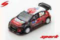Spark (スパーク)  1/43 シトロエン C3 WRC シトロエン Total アブダビ WRT No.11 Rally Guanajuato Mexico 2018 S.Loeb/D.Elena