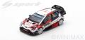 Spark (スパーク) 1/43 トヨタ Yaris WRC トヨタ Gazoo Racing WRT No.8 3rd ラリー・モンテカルロ 2019 O.Tanak/M.Jarveoja