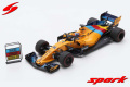 Spark (スパーク) 1/43 マクラーレン F1 Team No.14 アブダビ GP 2018 - マクラーレン MCL33 (Last Race - Special package with tyre marks) Fernando Alonso