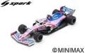 [予約]Spark (スパーク)  1/43 SportPesa Racing Point F1 Team No.18 Chinese GP 2019 Racing Point-Mercedes RP19 Formula One 1000th GP Lance Stroll