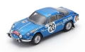 Spark (スパーク) 1/43 Alpine A110 No.28 Winner Monte Carlo Rally 1971 O.Andersson/D.Stone