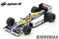 [予約]Spark (スパーク) 1/43 Williams FW11 No.6 Winner ブラジル GP 1986 Nelson Piquet