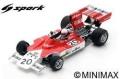 [予約]Spark (スパーク) 1/43 Iso FW No.20 ブラジル GP 1974 Arturo Merzario