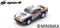Spark (スパーク) 1/43 ポルシェ 959 No.186 Paris Dakar 1985 R.Metge/D.Lemoine