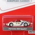 Schuco(シュコー) 北米市場向け 1/64 ポルシェ 918 スパイダー ホワイト Martini