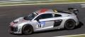 [予約]Spark (スパーク) 1/43 アウディ R8 LMS GT4 No.18 アウディ Sport Team Phoenix ニュルンベルク 24H 2017 C. Abt/R. Frey/P. Huisman/P. Terting