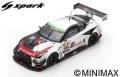Spark (スパーク) 1/43 日産 GT-R Nismo GT3 No.99 GTNET Motor Sports Winner Fuji Super Tec 24H 2018 T.Hamano/K.Hoshino/K.Fujinami/H.Yasuda/Z.Sun