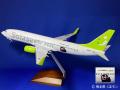 [予約]エバーライズ 1/100 737-800 ソラシドエアー くまモン号 JA805X
