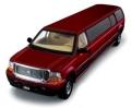 [予約]SunStar(サンスター) 1/18 フォード Excursion リムジン 2004 Toreador レッド
