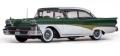 [予約]SunStar(サンスター) 1/18 フォード フェアレーン 500 ハードトップ 1958 ホワイト/Silvertone グリーン