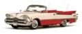 [予約]SunStar(サンスター) 1/18 ダッジ カスタム ローヤル ランサー オープン コンバーチブル 1959 Poppy パール