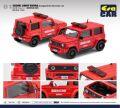 [予約]エラカー 1/64 01 Suzuki Jimny Sierra Kunigami Fire Services Carスズキジムニー 沖縄県 国頭地区消防本部