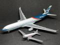 【SALE】herpa wings 1/400 A330-300 & DC-3 キャセイパシィフィック航空 2 Plane Set