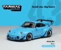 ※発売中止※ [予約]Tarmac(ターマック) 1/43 RWB 993 ブルー ★世界限定240台