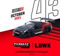 [予約]Tarmac(ターマック)1/43 LB-WORKS NISSAN GT-R R35 type 2 Advan