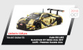 Tarmac(ターマック) 1/64 アウディ R8 LMS Blancpain GT Series Asia 2017 AAPE/Phoenix Racing Asia