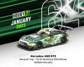 [予約]Tarmac(ターマック) 1/64 Mercedes-AMG GT3 Macau GT Cup - FIA GT World Cup 2019 Winner