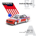 [予約]Tarmac(ターマック) 1/64 BMW M3 E30 Spa 24hours Race 1992 Winner Driver:Soper/Martin/Danner