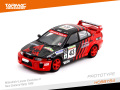 Tarmac(ターマック) 1/64 HOBBY64 三菱ランサー Evo V New Zealand Rally 1999 Nutahara/Odagiri
