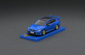 Tarmac(ターマック) 1/64 Subaru WRX STI  EJ20 Final Edition Blue ※コンテナBOX